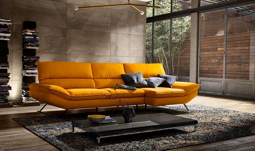 Dondi Salotti ci illustra come scegliere il giusto divano in base al tipo di ambiente